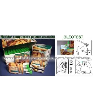Tiras para el análisis de calidad en aceite de freidoras. HT-OLEOTEST. 20 Tests