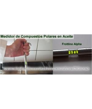 Medidor de compuestos polares para análisis de aceite de freidoras. HI - Frottino Alpha