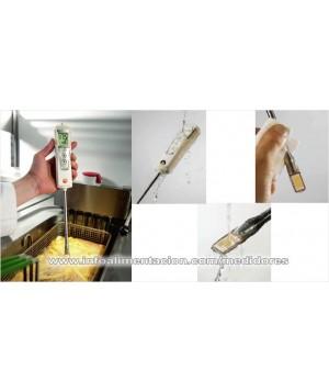 Medidor de calidad de aceite de freidoras. Testo 270