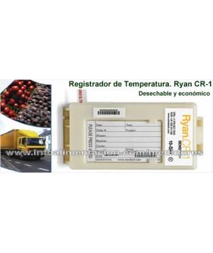 Registrador de temperatura Sensitech Ryan CR-1 para 20 DÍAS