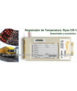 Registrador de temperatura Sensitech Ryan CR-1 para 75 DÍAS