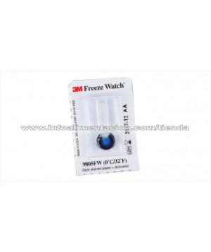 Indicador de frio. Temperatura de detección a 0 ºC Freeze Watch. 9805FW