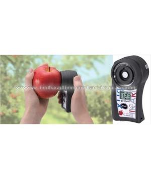 Refractómetro Brix en manzanas. No destructivo. PAL-HIKARI 5