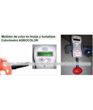 Medidor de color o Colorímetro digital de frutas y hortalizas. AGROCOLOR