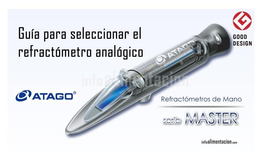 ¿Qué refractómetro óptigo elegir? Guiá de todos los modelos Atago Master